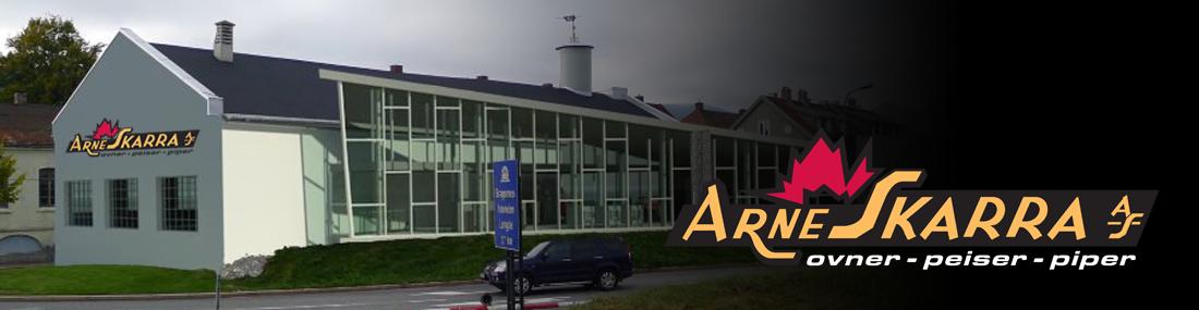 Arne Skarra ny butikk